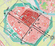 Fig. 1-13 Vienna mediaval map[1]