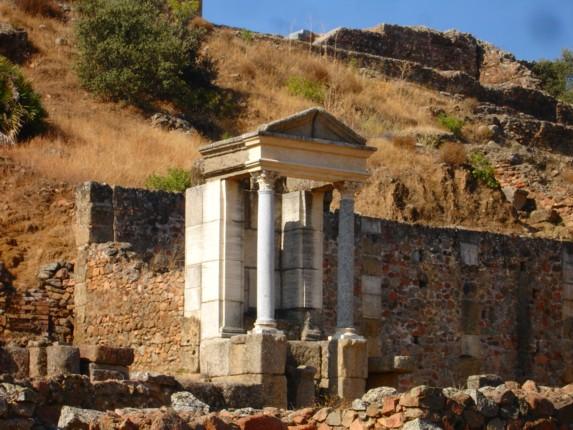 Instituto Internacional Hermes Templo Al Dios Mercurio En Munigua
