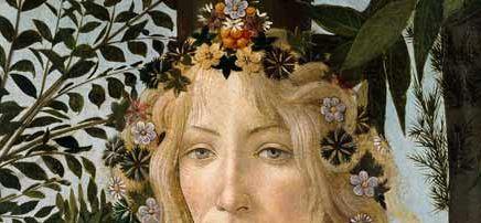 Instituto Internacional Hermes Mercurio En La Primavera De Botticelli
